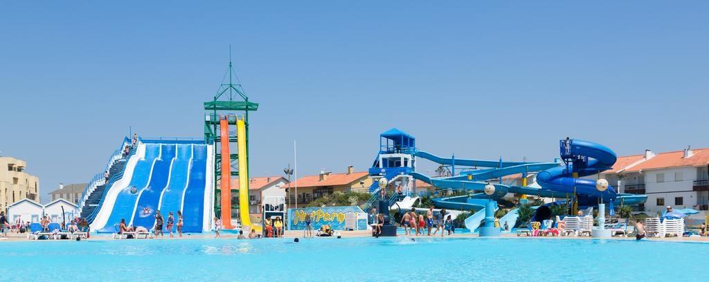 Hotel con parque acuático en Portugal Cristal Praia