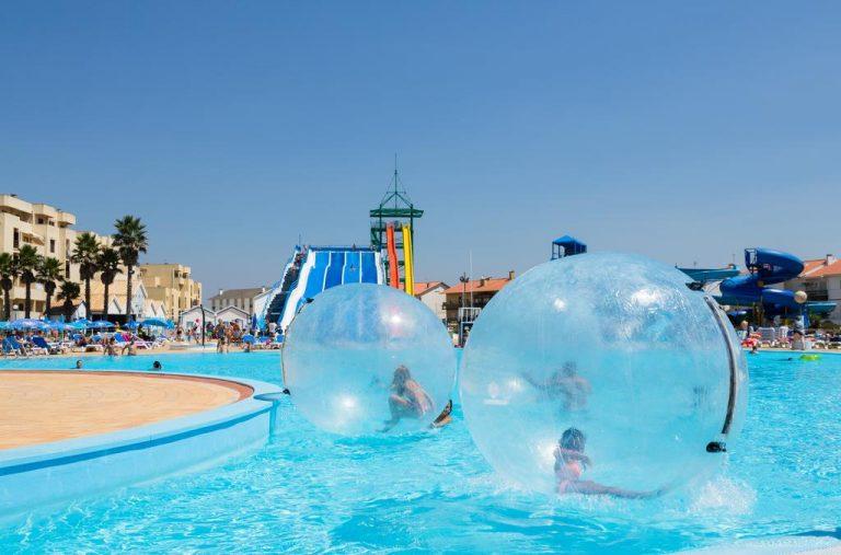 hotel con parque acuático en algarve cristal praia