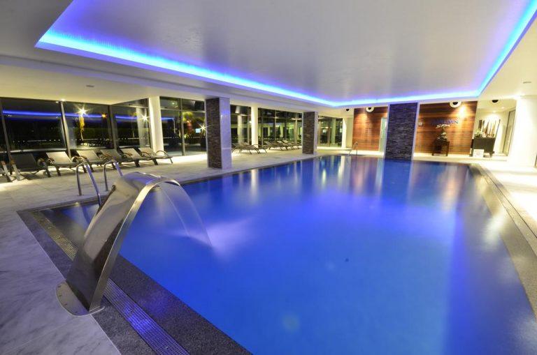 Zona de Spa del hotel aquashow en algarve