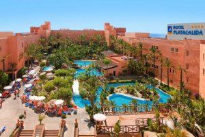 Hotel para ir con niños en Granada, Playacálida playa
