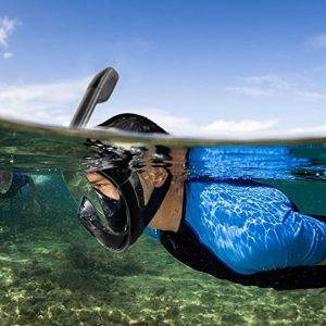 mascara de snorkel para niños