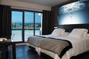 Habitación de un hotel familiar en Murcia playa