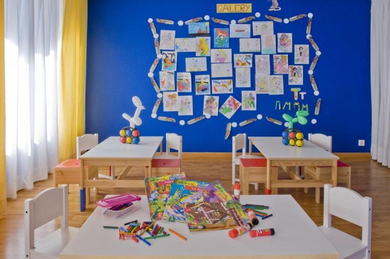 Miniclub del hotel para niños Palmasol