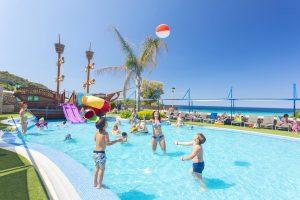 paradisíaco hotel familiar en Menorca