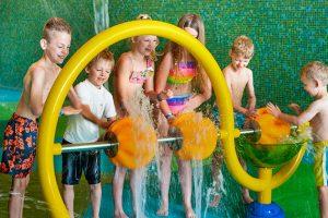 parque acuatico para niños pequeños