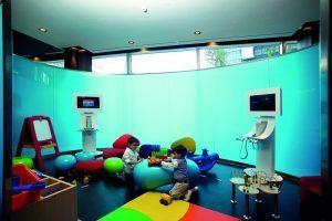 Guardería de un hotel para niños en Barcelona